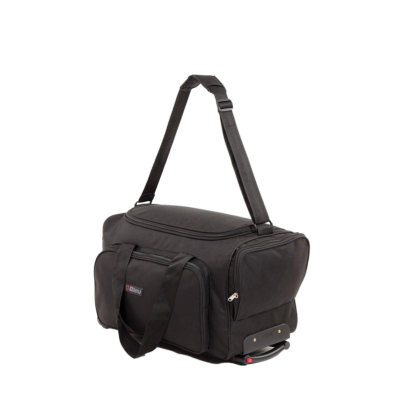 1fd11ffe4 Bleu Convenient Black Travel Bag with Trolley (Medium - 23 (L) X 11(B)  Inches: Amazon.in: Bags, Wallets & Luggage