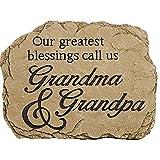 """Carson, Garden Stone """"Grandma and Grandpa"""""""