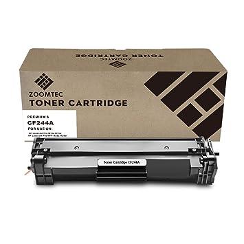 ZOOMTEC CF244A 44A Cartucho de tóner Compatible para HP Laserjet Pro M15a M15w M16a M16w, HP Laserjet Pro MFP M28a M28w M29a M29w Impresora(1 ...