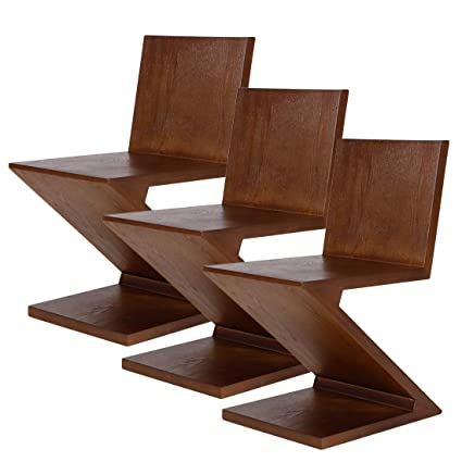 Amazon Com Emorden Furniture Gerrit Thomas Rietveld Zig Zag