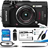 Olympus TG-5 Waterproof Camera with 3-Inch LCD, Black - Deal-Expo Basic Accessories Bundle