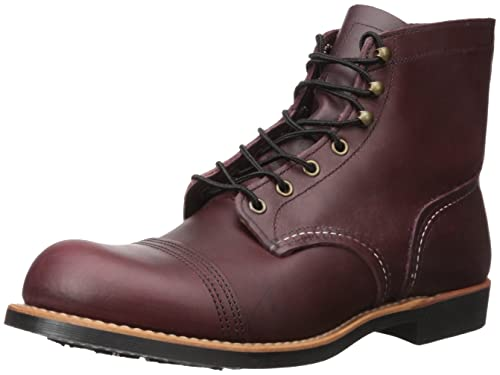 RED WING Iron Ranger Botines/Low Boots Hombres Burdeo Botas de caña Baja: Amazon.es: Zapatos y complementos