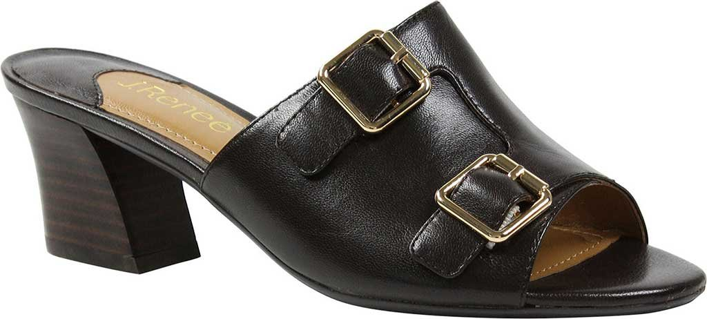J.Renee Women's Maribeth Slide Sandal B01NCOZX2M 10 C/D US|Chocolate