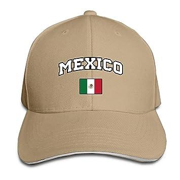 Voxpkrs 2018 Rusia México Equipo de Fútbol Unisex Gorra de béisbol ...