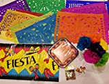 Mexican Party Decoration - Fiesta Party Supplies, Mexican Party Supplies, Includes Mexican Wall Decor