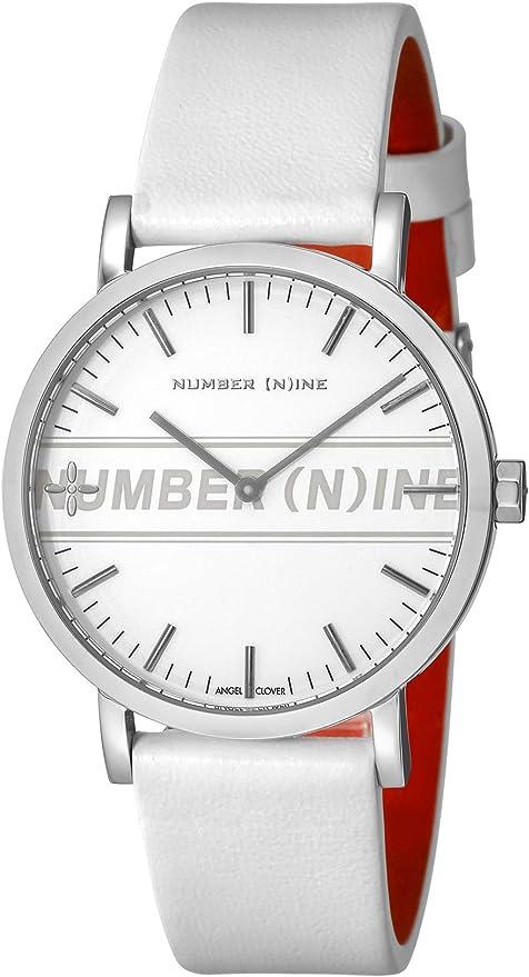 [エンジェルクローバー] 腕時計 NUMBER(N) INE ホワイト文字盤 NNR40SSV-WH メンズ ホワイト