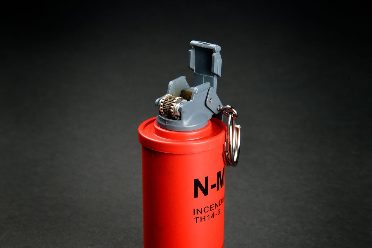 Lighter incendiary Nade - Real csgo Grenade Mechero Skin Counter Strike Global Offensive - fadecase