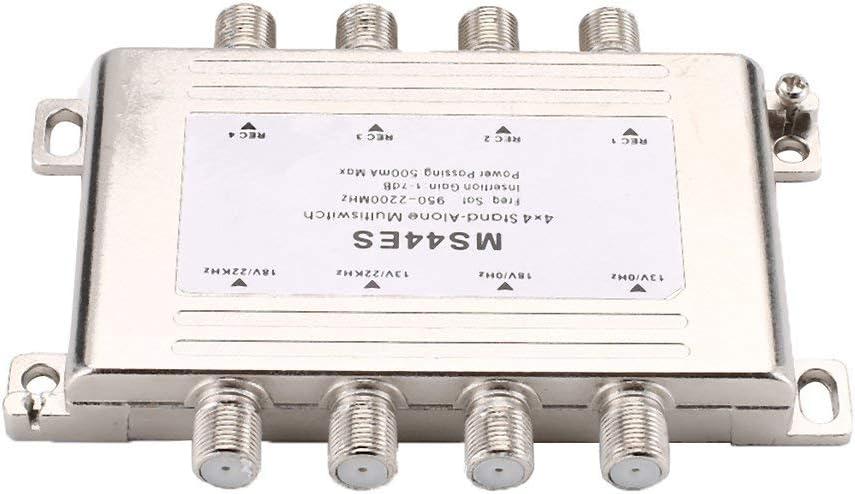 Señal de satélite LNB Voltaje seleccionado Interruptor de ...