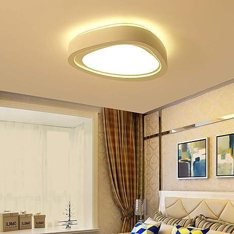 WZJ-Plafón Hogar Sencillo y Moderno Iluminación LED Lámpara ...