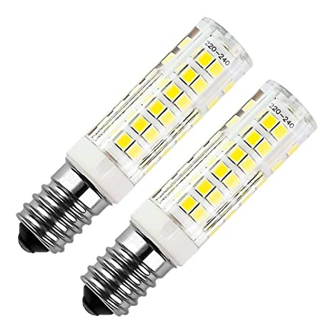 E14 bombilla LED 7W 500LM, ZSZT rosca Edison pequeña (SES), equivalente a