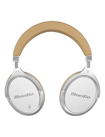 3125be1d86d Bluedio F2 Bluetooth Headphones Active Noise Cancelling with Mic , Over Ear  Wired and Wireless Headsets