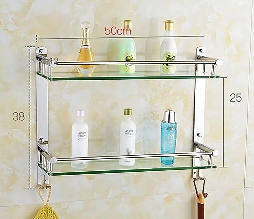 Badezimmer Regal Badezimmer-Regal 304 Edelstahl-doppeltes ...