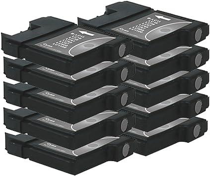 10 Druckerpatronen Tinte Für Brother Dcp 145c Dcp 197c Dcp 185c Mfc 250c Ersetzen Lc980 Lc1100 Bürobedarf Schreibwaren