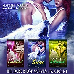 The Dark Ridge Wolves: Books 1-3
