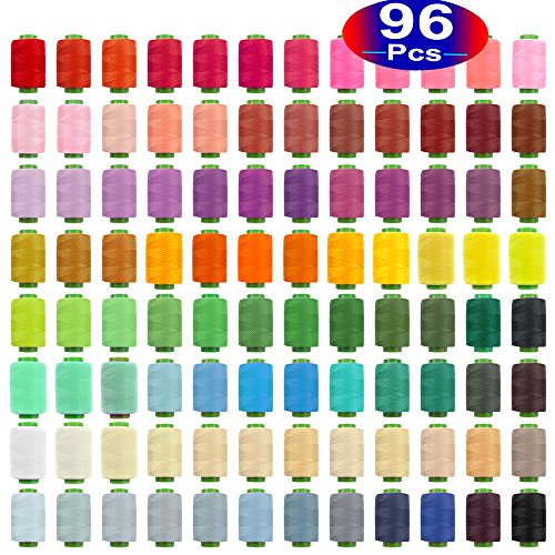 A must have for all professional or personal seamstress. The variety of colors will always give you the perfect color match. Very generous size and strong threads.