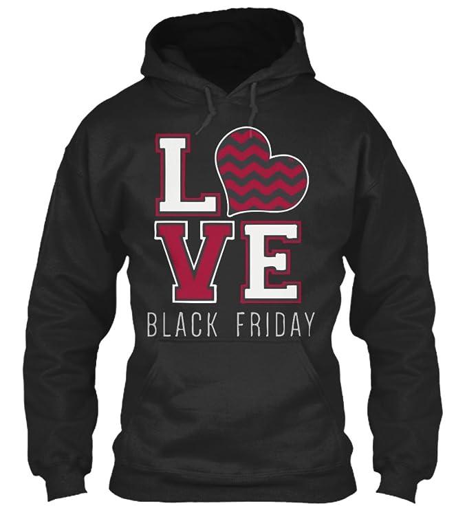 teespring Sudadera con Capucha Hombre - - LOVE BLACK FRIDAY: Amazon.es: Ropa y accesorios