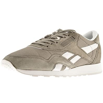 a31385bd20b Khaki Mens Reebok Classics Nylon Trainers Khaki - 11 (45)  Amazon.co.uk   Shoes   Bags