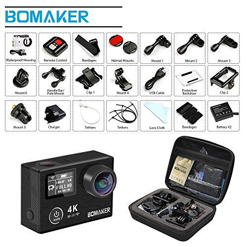 Caméra Action 4K, Caméscope GooBang Doo Bomaker Ultra HD Caméra
