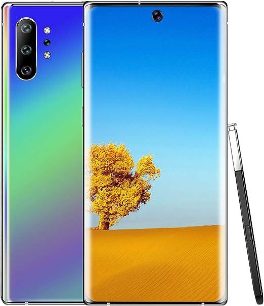2019 Nota 10+ 6,5 Pulgadas de Pantalla Completa Ver la Gota de rocío Smartphone con 13 MP cámara, el teléfono Android 9.1-Sim Free Mobile,Gradation,USPlug: Amazon.es: Hogar