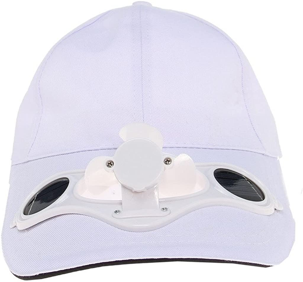 Solaration 7001 White Fan Baseball Golf Hat : Sports Fan Baseball Caps : Clothing