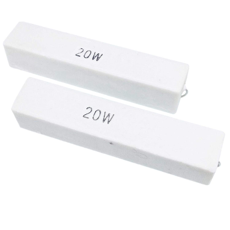 US Stock 2pcs 30 ohm 30RΩJ 20 watt Axial Ceramic Cement Power Resistor 20W
