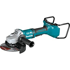 Makita XAG12Z1 18V X2 LXT Lithium-Ion 36V Brushless Cordless 7 Paddle Switch Cut-Off/Angle Grinder, with Electric Brake, Tool Only