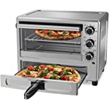 Oster TSSTTVPZDS Convection Oven with Dedicated Pizza Drawer, Silver