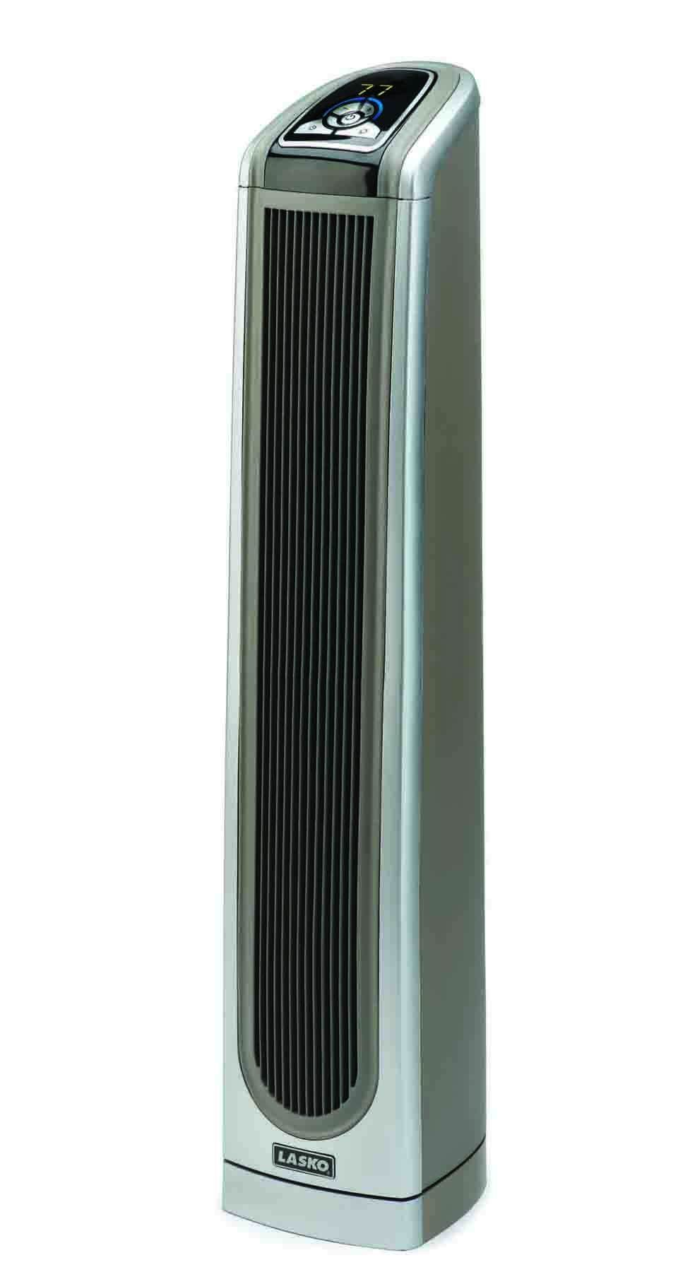 Lasko 5588 Ceramic Tower Heater with Remote