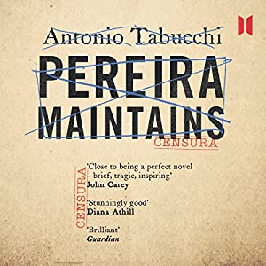Pereira Maintains Audiobook