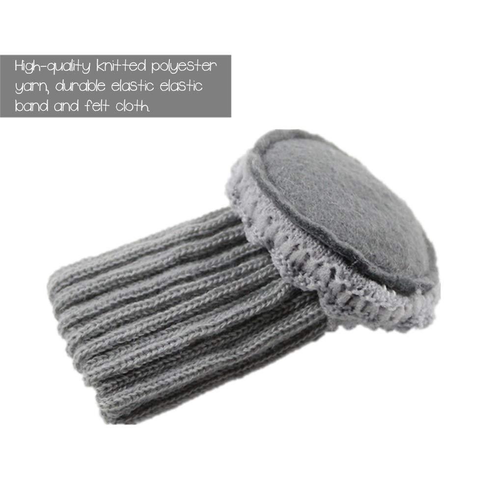 BTSMAT Lot de 16 Paires de Chaussettes de Chaise /élastiques antid/érapantes