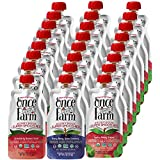 Once Upon a Farm Organic, Cold Pressed, Refrigerated, Dairy Free Super Smoothie, 4 Ounce (Pack of 24)
