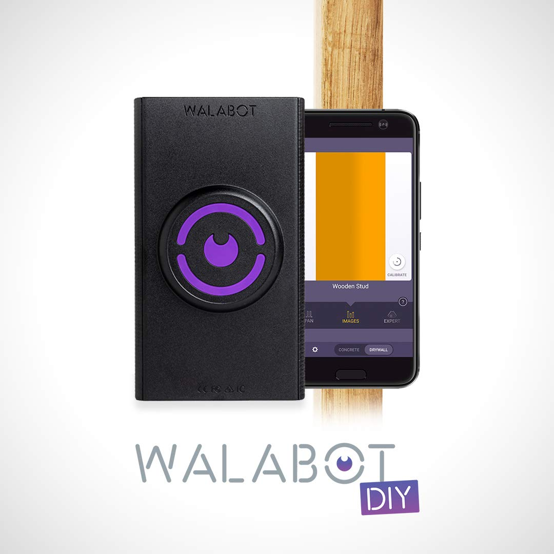 Walabot DIY, Stud Finder In-Wall Imager, Cell Phone Wall Scanner for Studs, Pipe and Wires, (Android Smart Phone Compatible Only) by Walabot