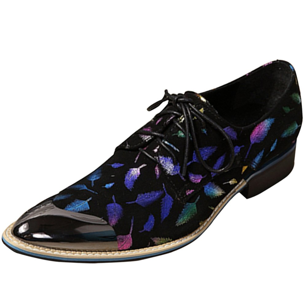 Männer Schnüren Sich Oben Schuhe Friseur Schuhe Mode Persönlichkeit Mode