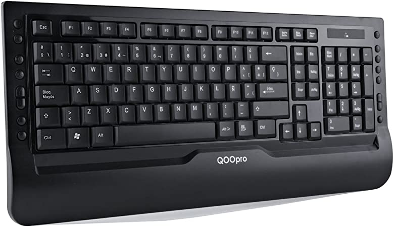Qoopro Wireless Keyboard 21007 - Teclado: Amazon.es: Informática