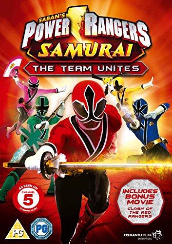 Power Rangers Samurai Vol.1 The Team Unites (Nickelodeon, Channel 5) [DVD] (Power Rangers Samurai The Team Unites Vol 1)