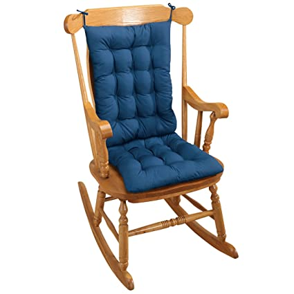 Rocking Chair Cushion   Blue