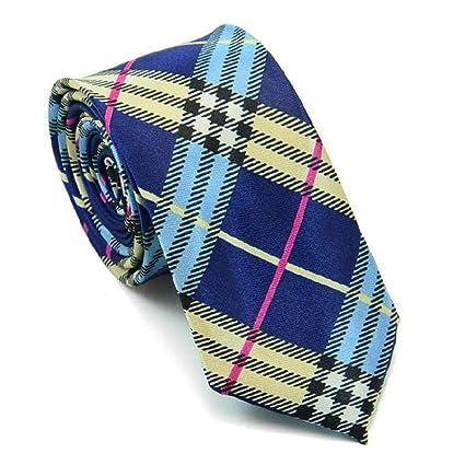 Littlefairy Hombre Designer Corbata,Marea Estampada de 5cm