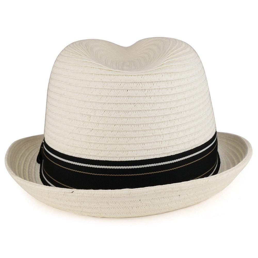 XXL Oversized Stylish Basic Stingy Straw Fedora Hat