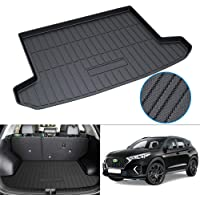 Powerty Compatible with Trunk Mat Hyundai Tucson 2016 2017 2018 2019 2020 2021 All Weather TPO Rear Cargo Liner Upgrade…