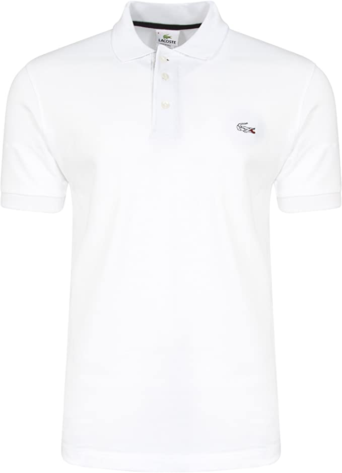 Lacoste.. - Polo - Básico - Clásico - para Hombre Blanco Blanco 5 M ...