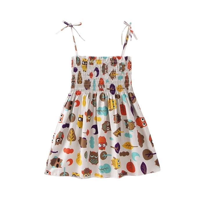 Mädchen Kleider Beikoard Infant Kids Cartoon Blumenkleid Kleidung ...