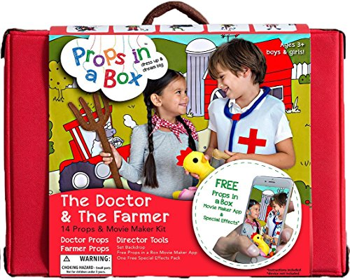Props in the Box PB1504 The Doctor and The Farmer Costume ()