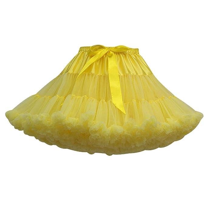 7dc9805c7 Falda Tutu Mujer Faldas de Tul Cortas Falda Tul Volantes Disfraz ...