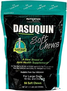 Dasuquin Soft Chews for Dogs 60 lbs and over