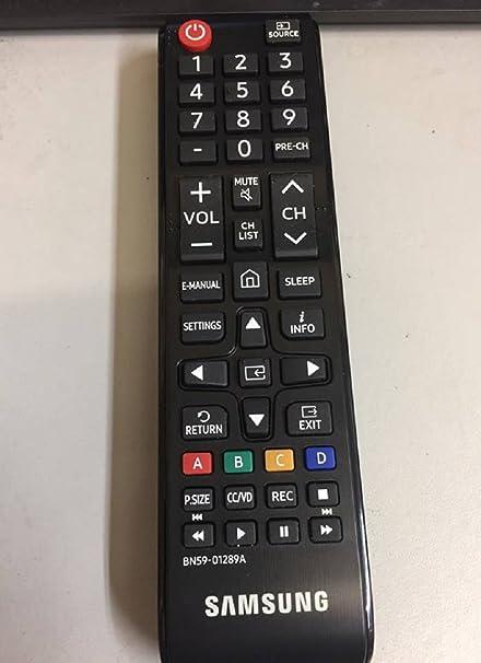 Samsung BN59 – 01289 Mando a Distancia para Smart TV (Original): Amazon.es: Electrónica