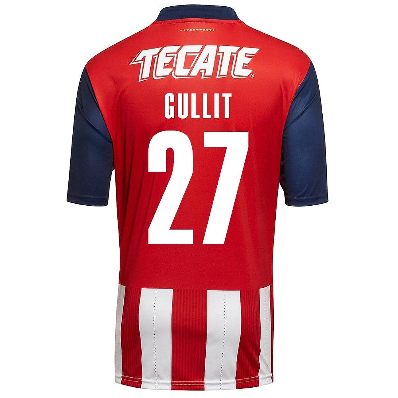Puma M。Perez # 25 Chivas Guadalajara Home Soccer Jersey 2016 / 17 B01LFW3WN8S