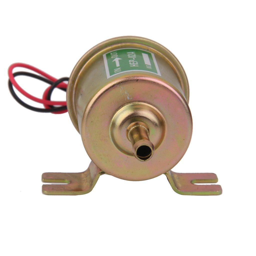 12V Low Pressure Elektrische Benzinpumpe Kraftstoffpumpe HEP02A HEP-02A