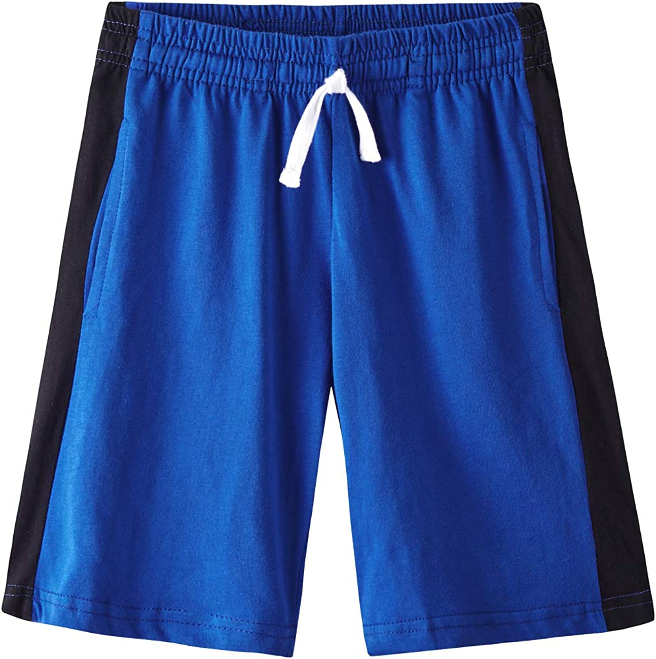 Spring/&Gege Boys Cotton Knit Jersey Pull-On Shorts