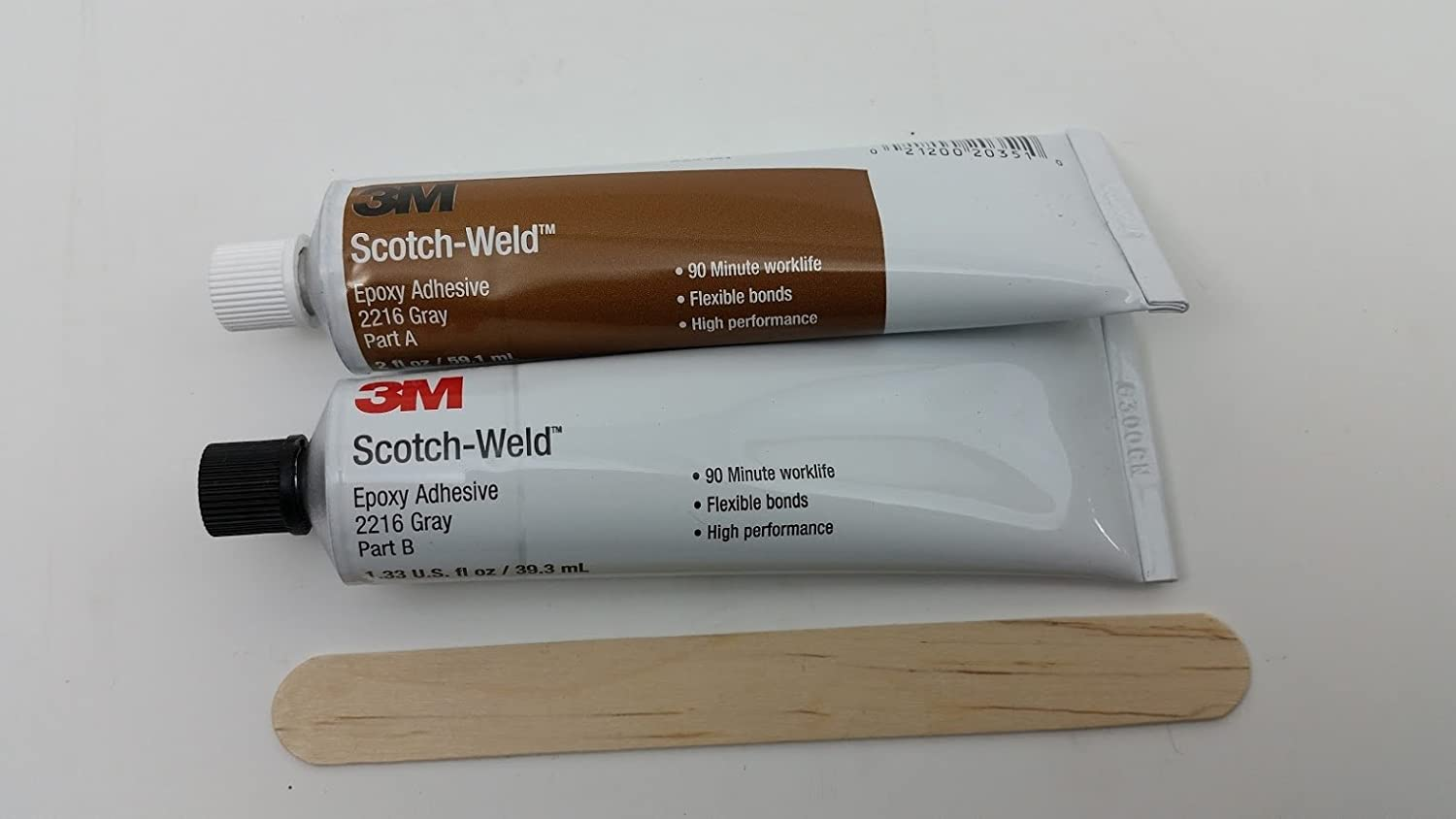 3M Scotch-Weld 2216 Epoxy Adhesive, 2 oz Tube Kit, Gray: Amazon.com:  Industrial & Scientific