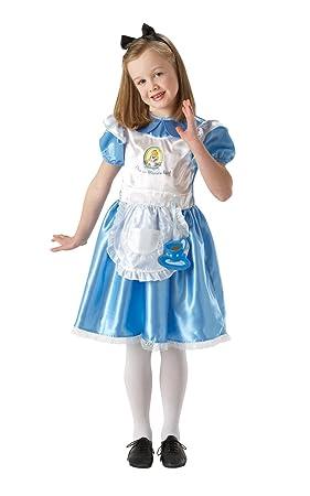Alice - Disfraz de Alicia para niño, talla S (104 cm) (R884663-S ...